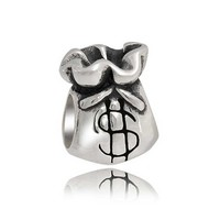 Bling Jewelry Money Bags Charm