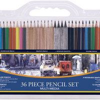 Pro Art 36-Piece Artist Pencil Set