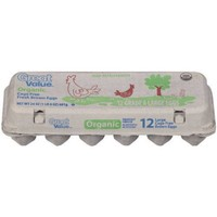 Great Value Large Organic Brown Eggs, 12 count - Walmart.com