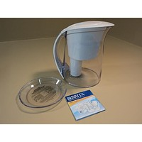 Brita Water Filtration System Oceania Pitcher Easy Fill Lid 10 Cups OB48 OB03 -- Used