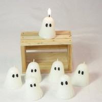 Votive Ghost Candle, Highly Scented Ghost Candle, Halloween Ghost Candle, Halloween Decor