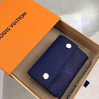 Kuyou Lv Louis Vuitton Gb19710 M67620 K45 Small Leather Goods All Collections Discovery Compact Wallet 9.7 X 7.0 X 2.0 Cm