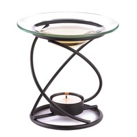 Graceful Spiral Base Tealight Candle Oil Warmer