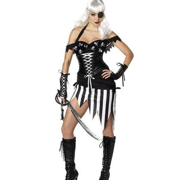 Halloween Party Pirate Costume [8978900231]