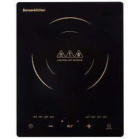 Portable Touch Induction Cooktop with LED Touch Screen, 1800W Countertop Burner, Induction Stove Cooker For Griddle, Pan, Tea Kettle, Outdoor, Indoor 8802-Upgrade