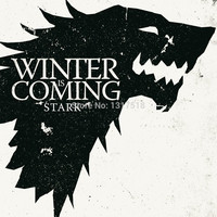 Game of Thrones Stark Wall Poster 10x16