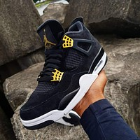 Air Jordan 4 Retro Royalty sneakers basketball shoes
