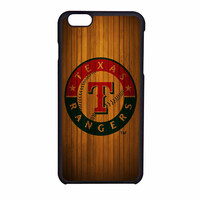 Texas Rangers Wood Pattern iPhone 6 Case