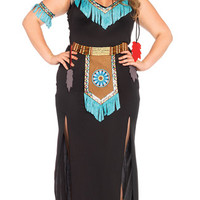 Plus Size Wolf Warrior Costume