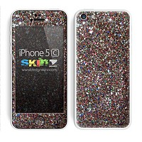 Colorful Glitter Print Skin For The iPhone 5c