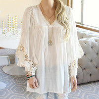 Cypress Lace Tunic