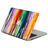 """Colorful Oil Painting Laptop Decal Sticker Skin For MacBook Air Pro Retina 11"""" 13"""" 15"""" Vinyl Mac Case Body Full Cover Skin"""