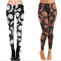 Digital Printing Ms Sun Ladies Leggings