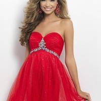 Homecoming dresses by Blush Prom Homecoming Style 9681