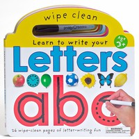 Learn To Write Your Letters Wipe Clean Board Book