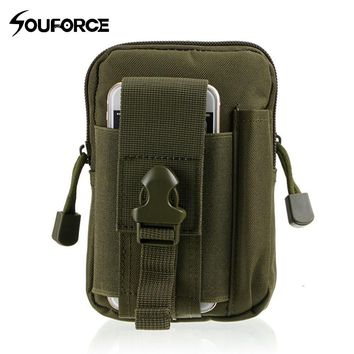 8 Color Tactical Holster Military Molle Hip Waist Belt Bag Wallet Pouch Purse Phone Case with Zipper Ourdoor Sport Package