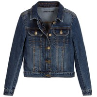 Zadig & Voltaire Girls Classic Denim Jacket (Mini-Me)