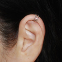 No Piercing Cartilage upper ear cuff