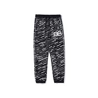 Balenciaga hot seller of men's and women's trousers with small printed stripes with trim