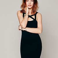 Intimately Womens Cross Front Bodycon