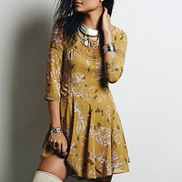 Free People Womens Key to My Heart Fit and Flare