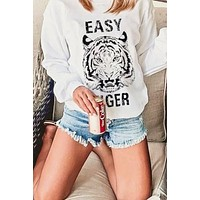P&M Easy Tiger Oversized Sweatshirt