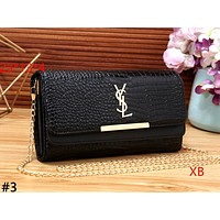YSL 2019 new crocodile pattern female personality personality wild chain bag shoulder bag Messenger bag #3