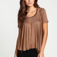 Trapeze Jersey Knit Top - LoveCulture