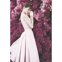 Audrey Hepburn (Pink Dress) Movie Poster Print - 24x36 Photography Poster Print, 24x36