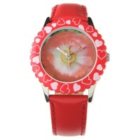 Red Poppy to remember peace Watches