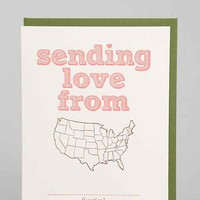 Sending Love Card- Assorted One