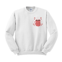 Property Of: Glen Coco Crewneck Sweater, Mean Girls Movie Christmas Sweater, Regina George, Candy Cane Sweater, Christmas Party, 90's Movie