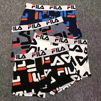 FILA Fashion Men Briefs Shorts Underpants Male Cotton Underwear