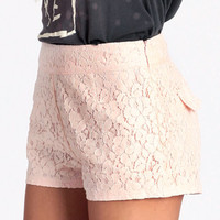 Love And Lace Shorts - $24.50 : ThreadSence, Women's Indie & Bohemian Clothing, Dresses, & Accessories