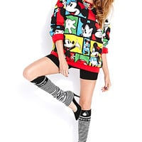 Standout Mickey Mouse Leg Warmers