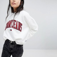 Tommy Jeans Collegiate Sweatshirt at asos.com