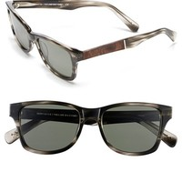 Men's Shwood 'Canby' 53mm Polarized Sunglasses - Pearl Grey/ Elm/ G15