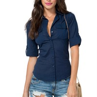 Katie Double Pocket Shirt