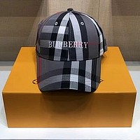 BURBERRY Embroidered Baseball Cap Hat