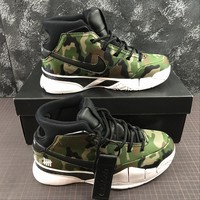 DCCK2 N1180 Nike Zoom Kobe 1 Protro MPLS Final Seconds Practical Basketball Shoes Green