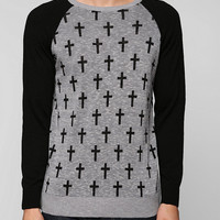 Urban Outfitters - Cross Sweater