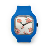 Summer Dress Watch in a Royal Blue Strap