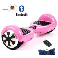 Mono Rover Pink Hoverboard w/Remote Bluetooth Speaker