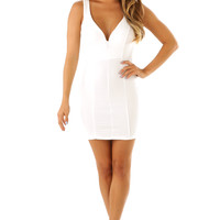 All That You Can't Leave Behind Dress: White