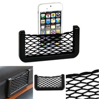 Universal Auto Car Seat Side Back Storage Net Bag Pocket Fit Phone Holder Organizer 1PC = 1651435140