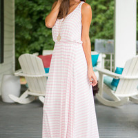 Isle Do What I Want Maxi Dress, Pink