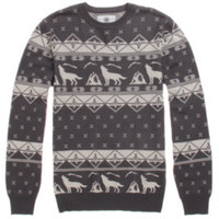 On The Byas Ghost Engineered Intarsia Sweater at PacSun.com