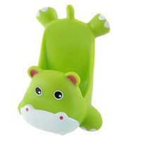 Amazon.com: Gino Mobile Phone Green Plastic Cartoon Hippo Shape Stand Holder: Cell Phones & Accessories