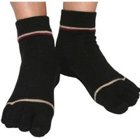 ToeSox Sport / Sandal Toe Socks, Organic Cotton