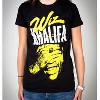 Wiz Khalifa 'Smiley' Junior Fitted Tee